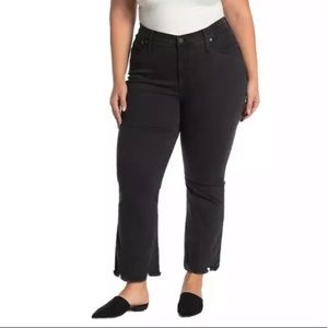 Madewell Cali Demi boot black jeans Sz 31